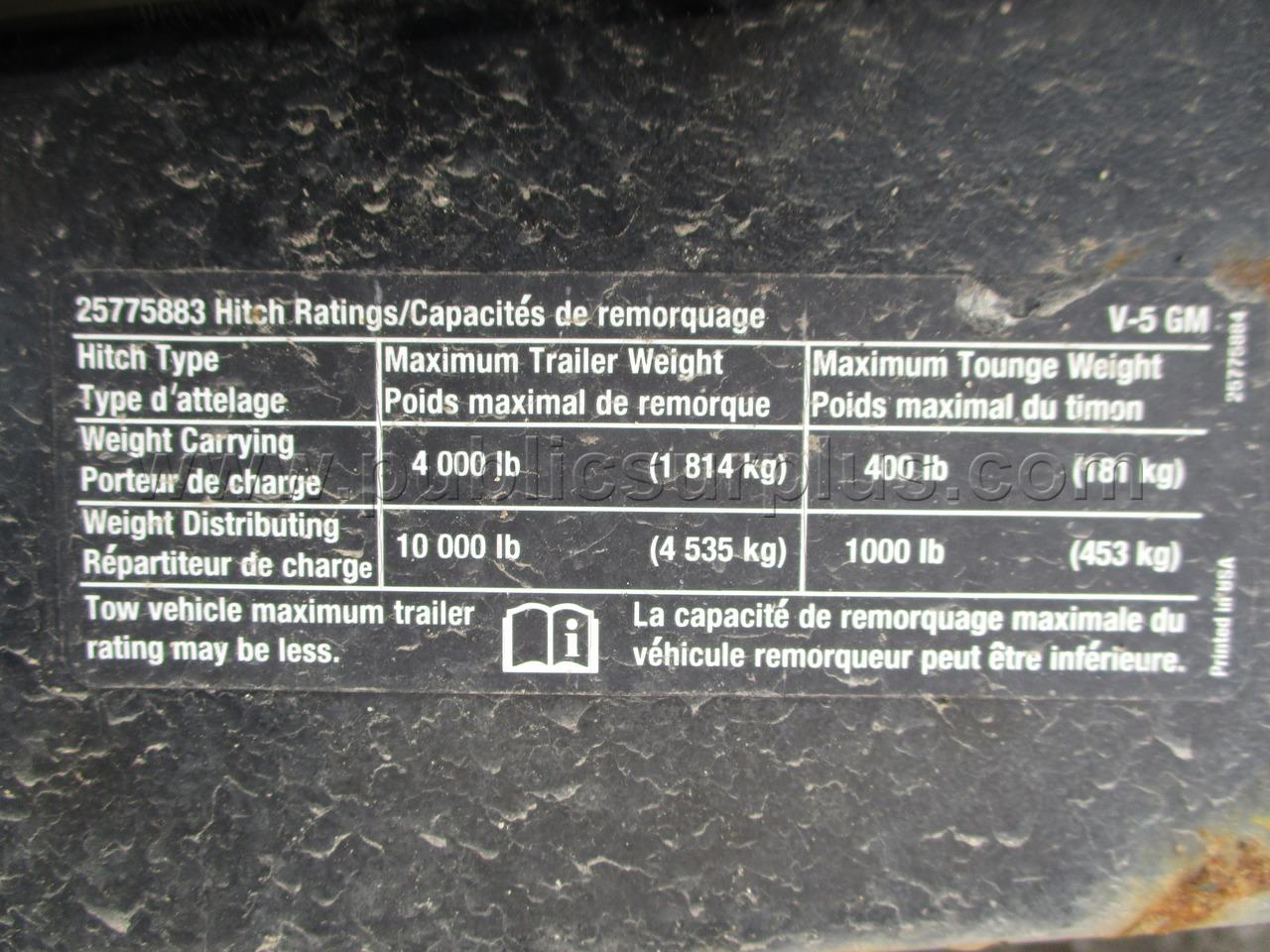 #2104917 - 2013 CHEVROLET EXPRESS PASSENGER VAN - CNG