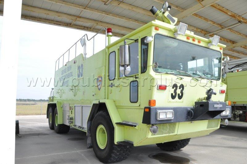 #2165314 - 1982 Oshkosh T-12 ARFF Truck ~ HAS-09121