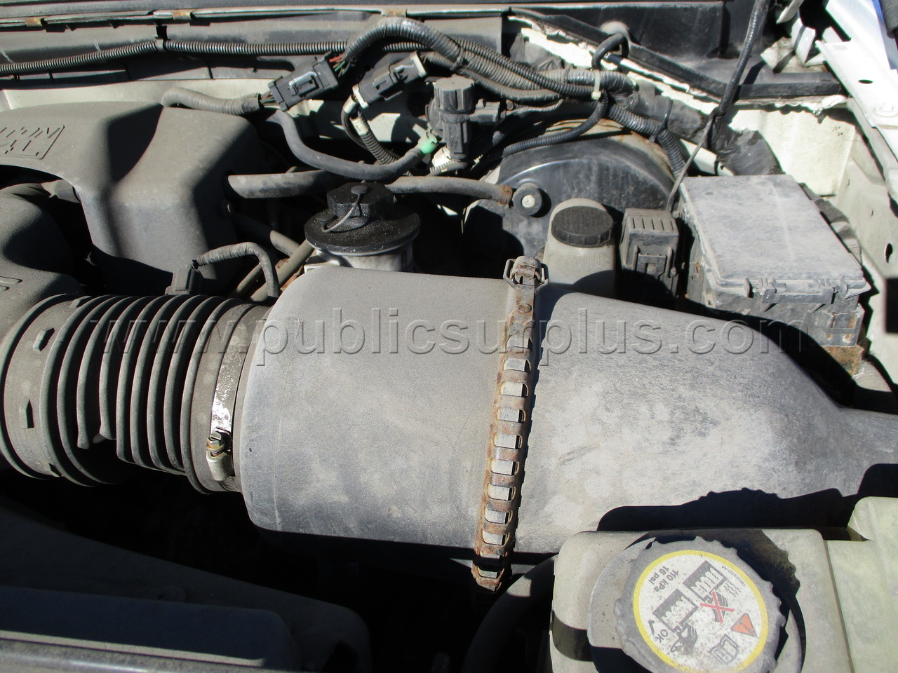 #2244274 - 2004 FORD F150 PICKUP TRUCK - CNG (4WD)