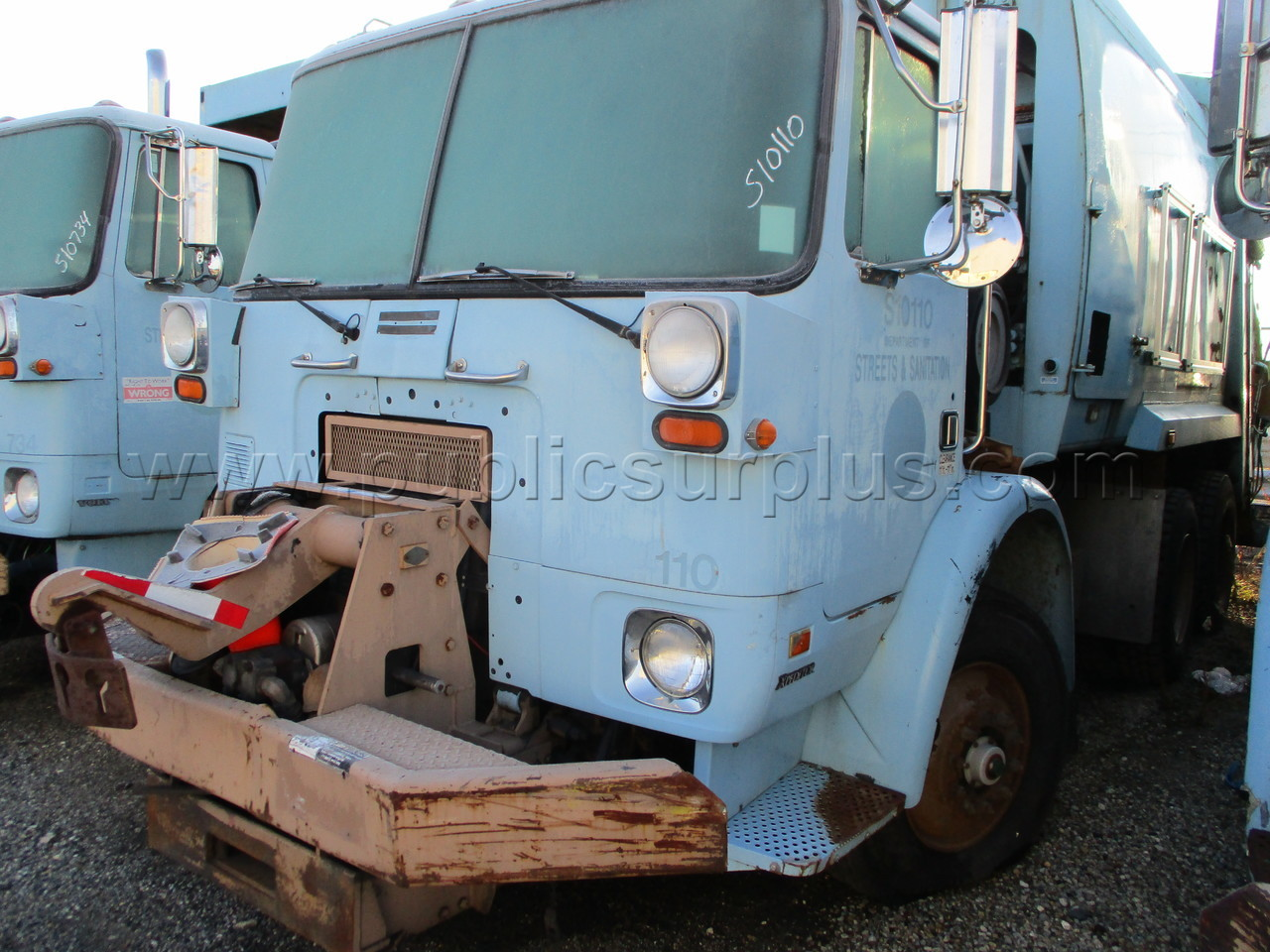 #2246863 - 2004 AUTOCAR XPEDITOR GARBAGE TRUCK