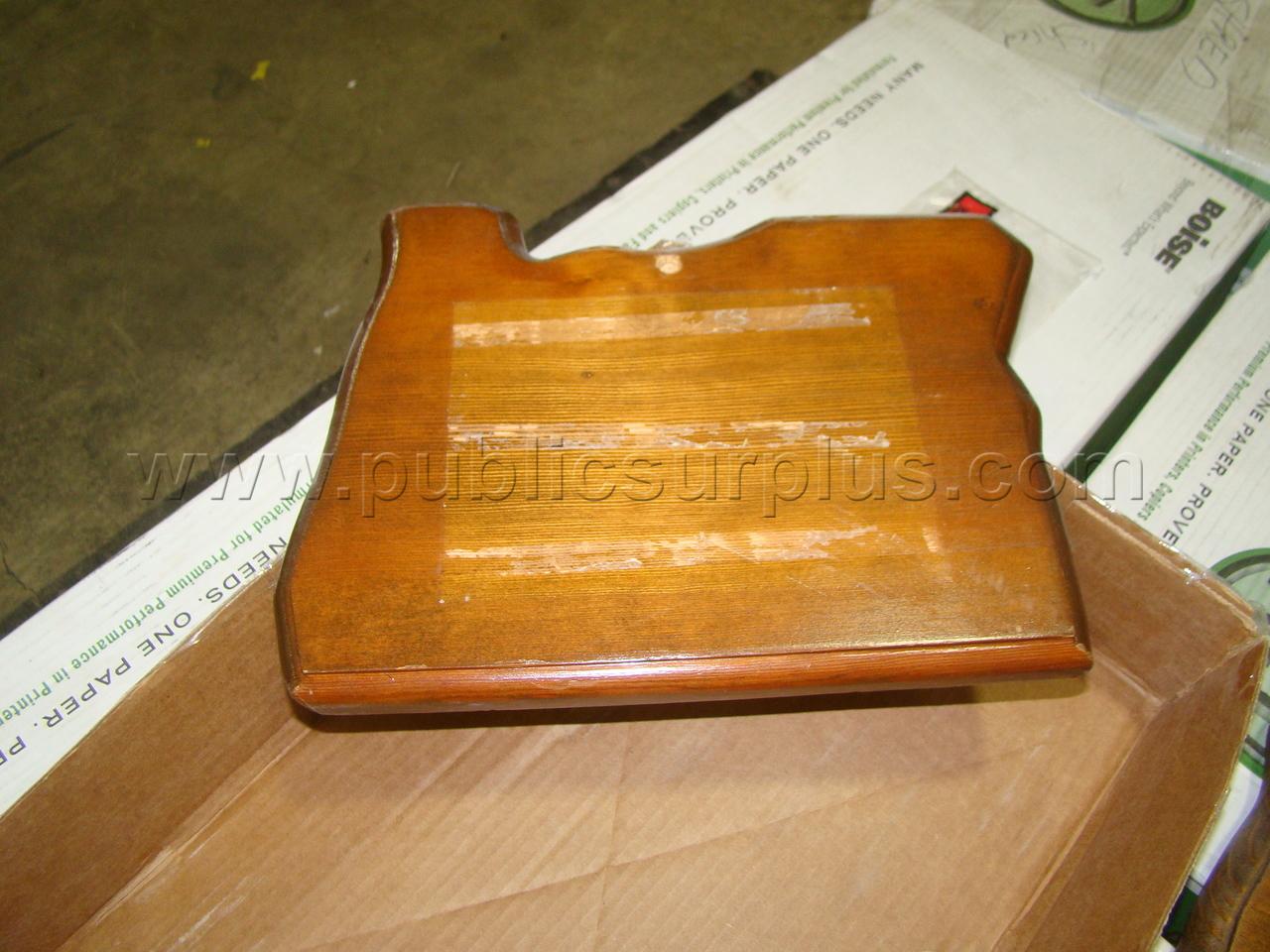 #2303691 - Oregon Shaped Wood Plaque Cut-outs