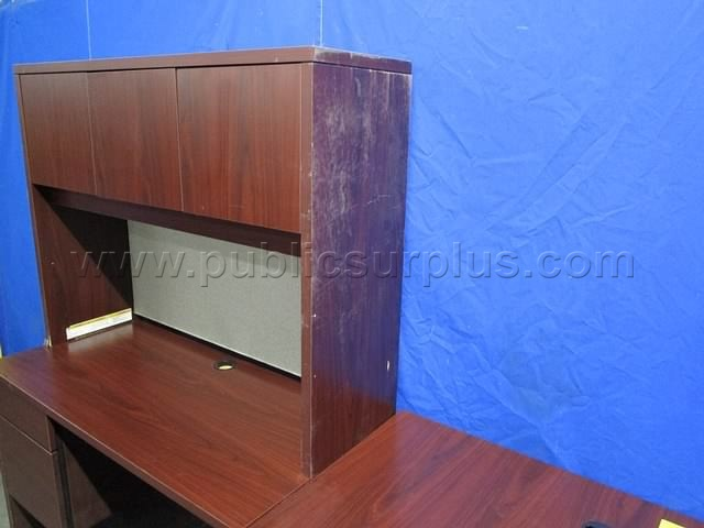 #2323981 - DESK W/RETURN ~ MR-4-137